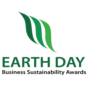 Earth Day Business Sustainability Awards Logo