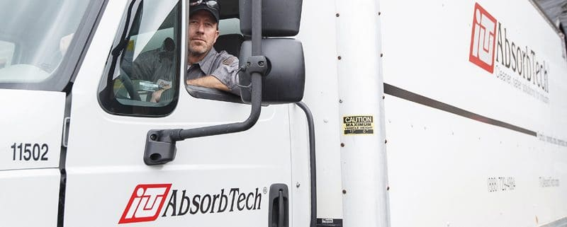 ITU AbsorbTech delivery truck
