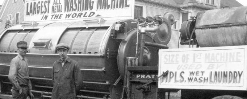 1930's World's Largest Washing Machine