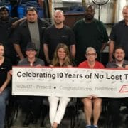 piedmont safety milestone
