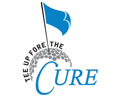 tee up fore the cure logo