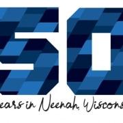 neenah logo 50th anniversary