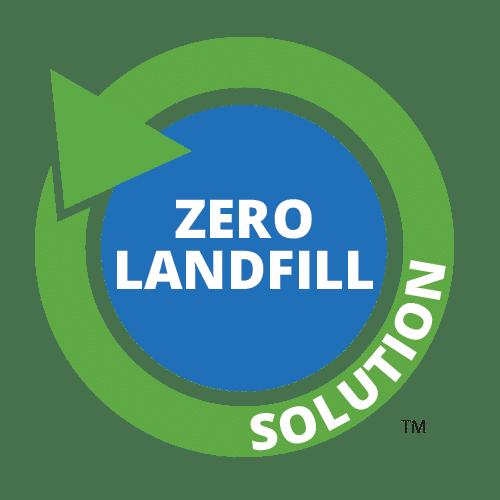 Zero Waste to Landfill Solution Logo