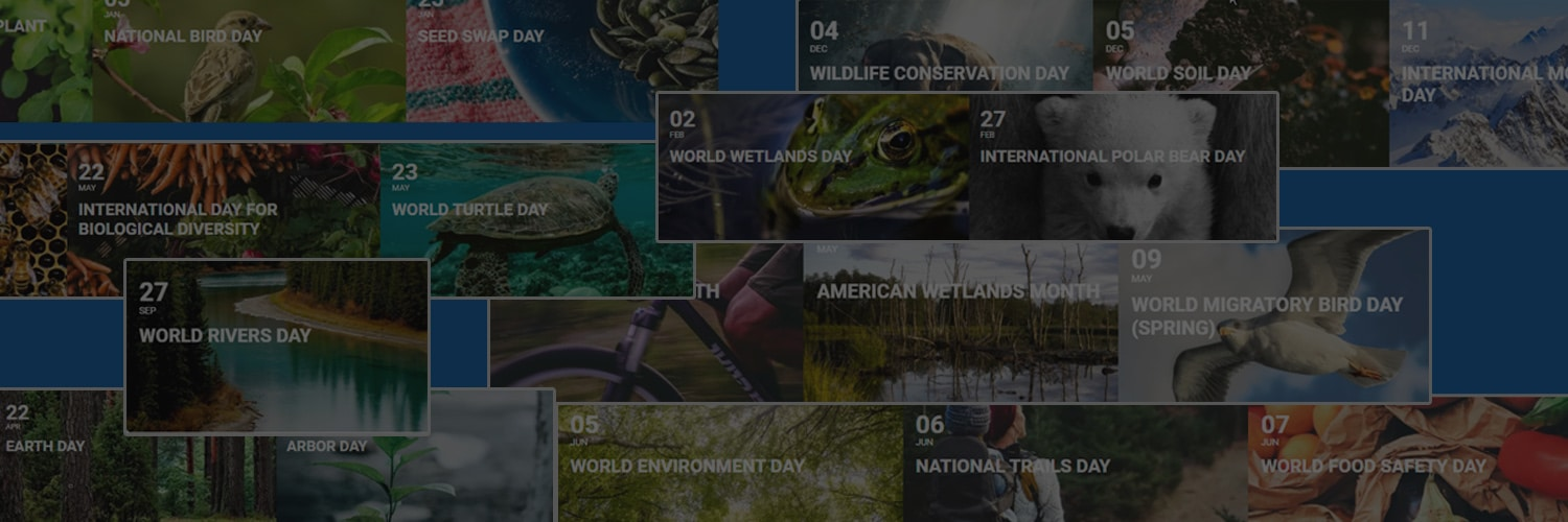 environmental calendar days of the year